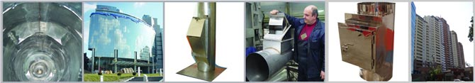 Waste and laundry chute systems